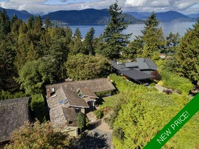 Copper Cove West Vancouver: Howe Sound Water/Island Views House for sale, 4 bedroom, 4 bathrooms 3,762 sq.ft., 14,219.13 sq.ft. lot