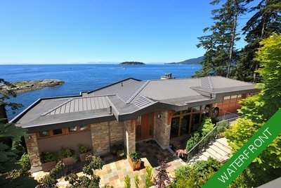 Waterfront, West Vancouver, Eagleridge House for sale: 3 bedroom, 4 bath 5,281 sq.ft.