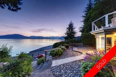 Lions Bay House for sale: WATERFRONT, 3 bedroom 2,823 sq.ft.